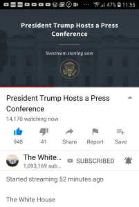 POTUS holds press conference on 2018 Midterm Resultshttps://youtu.be/7Cuq-hoCl0A